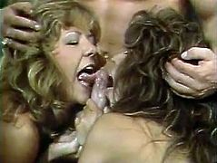 These chicks are so fucking horny that it is really scary. Sex-starved bimbos are banged one by one in this fantastic threesome sex video. Grab your throbbing dick and enjoy the action!