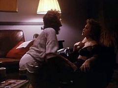 Check out two glorious lesbians in sexy lingerie sets greedily licking each other's tight trimmed pussies in dark room. Babes polish each other's sweet twats in 69 position.