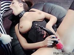 Great interracial sex for the slutty brunette Paige Turnah