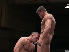 The homosexual blindness caused by the passion is here. Tyler Saint and Samuel Colt are going to fuck each other up!