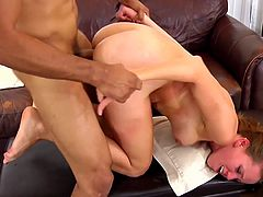 Needy slut gets ravaged by strong male during rough hardcore porn scene