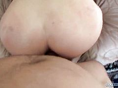 Mr. Pete has unthinkable oral sex with Ashlynn Leigh