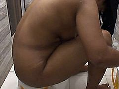 This is a hot indian deshi vabi full naked bathing scene.