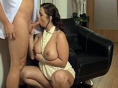 Mommy large tited mature has got laid