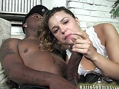 We have got some big black cock drilling white pussy in this interracial video. This is some serious hardcore fucking going on here