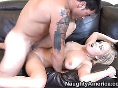Jessica Moore wants Dale Dabones fuck stick to fuck her cunt hard