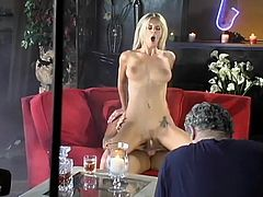 Four different pornstars perform in a backstage sex video. One of them rides a dick in a reverse cowgirl position. Two others lick each others pussies.
