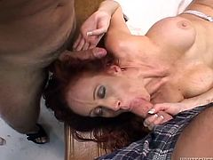 Have a look at this hardcore gangbang scene where the slutty redhead Bailey O'Dare plays a horny nurse getting fucked by doctors.