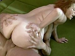 Big boobs Stella is a nasty mature who loves having young tools drilling her holes