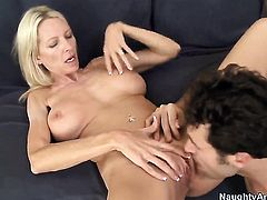 Emma Starr with big hooters is a sex pro and heres the proof in hardcore action with James Deen