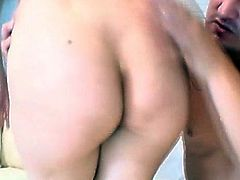 Perky tits mature blows a fat dick and lets it cum inside her mouth