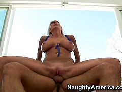Danny Mountain fucks mouth-watering Emma Starrs slit in every sex positon