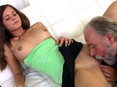 Senios cock is pleasing her needs during this awesome hardcore fuck