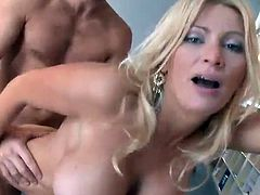 Big-Titted Ingrid Swenson has made love huge inside An Office
