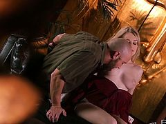 Hands down the best tits I have seen in porn. I have said that statement about a million times but I am sure about Stacie Jaxxx being number one! Check out these natural bouncing as she is fucked in this erotic scene