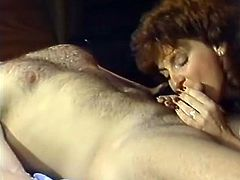 Watch this horny and kinky MILF getting fucked really nice and hard by her new friend in her bedroom in Classic Porn sex clips.