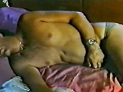 Watch this slutty and kinky white bitch getting fucked really hard in her butthole by her friend back in the seventies in The Classic Porn sex clips.