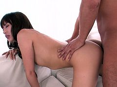 It's a time for a extremely hot sex video produced by Jav HD porn site. Seductive busty bitch gets her pussy licked and fucked doggy and cowgirl style.