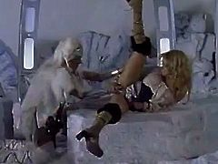 Alexa Rae and Jenna Jameson are featured in this old porn video and they are going to have some fun! Sex toys are always on duty!