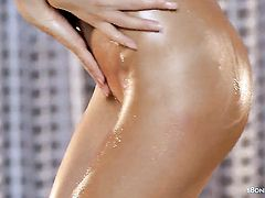 Guerlain stripping down to her bare skin