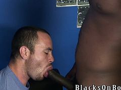 Have a blast watching these homosexuals having fun together! A White boy gets his ass fucked hard by two chocolate fellows and he loves it!