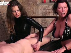 Cum-addicted sluts with big tits take part in group sex adventure
