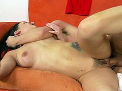 Make sure you take a look at this hot scene where the sexy Katie St. Ives is fucked by this guy as you hear her moan.