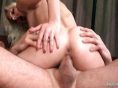 Abigaile Johnson getting down and nasty in anal action with George Uhl