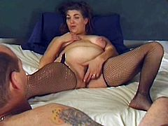 Mature couple in dirty amateur porn scene caught fully on cam