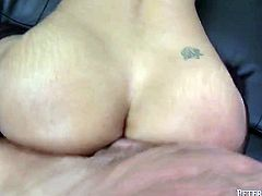 Long haired raven head bodacious sex pot with mesmerizing Tatas passionately invaded tremendous honey sweet joy stick of her ever hungry brutal man. Watch this dirty babe in Fame Digital sex clip!