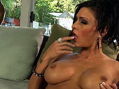 Sensual and amazingly hot pornstar is more than horny to play solo on cam