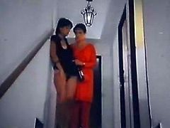 Incredibly fuck starving hootchie posed on stairs and spreaded her legs wide. Her kinky kooky gave her cool bottle of wide. They used it as a fuck toy to cool down that hot blooded twat. Look at this dirty sluts in The Classic Porn sex video!