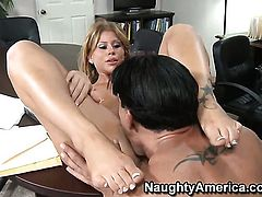 Marco Banderas wants to fuck hot bodied Brooklyn Lees neat hole forever