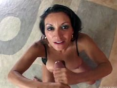 Make sure you have a look at this hot POV where the busty milf Persia Munir shows off her amazing ass and big natural tits while she sucks and fucks a big cock.