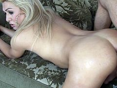 Get a load of this hardcore scene where the horny blonde shemale Gianna Rivera is fucked silly by this guy after being blown by her.