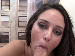 Get a load of this hardcore scene where the sexy Layla Luxxx is fucked by this guy after she sucks on his big cock. Watch her end up with her face covered by cum in this hot POV.