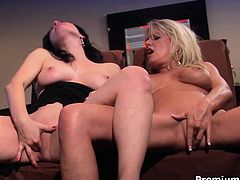 Mature lesbians Anastasia Pierce and Bridgett Lee rough