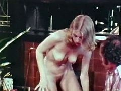 Slutty bitch sucks hard dick of older man. He then licks her pussy bringing her much delight. Later on she gets on top of hard shaft getting her anus stretched wide as fuck.