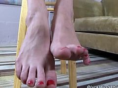 Veruca james interracial footjob