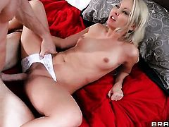 Johnny Sins is horny as hell and cant wait no more to screw cute Aaliyah Loves wet spot