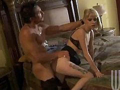 He is a muscled one and she loves every curve of his muscles, sucking his cock! Then the dip into the sexual embraces, reaching orgasm.