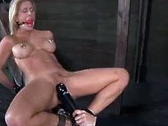 Cherie Deville tries to run away from her master because she can't handle the pain, but she can't escape. She has to endure pain and pleasure in a combination.
