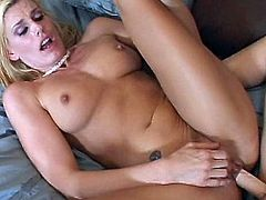 Cuties are sharing their naughty strapon in a crazy lesbian hardcore