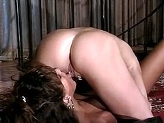 Dazzling girls with sexy bodies are having passionate lesbian sex. They tickle each other's throbbing pussies with tongue in a 69 position. Enjoy watching exciting vintage sex video made by The Classic Porn.