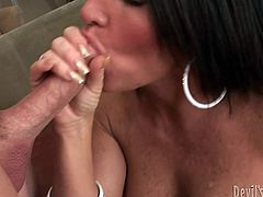 Get a load of this hardcore scene where the busty milf Kendra Secrets is fucked silly by a thick cock that leaves her out of breath.