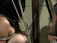 Mature Katy Parker has some time to get some pleasure with lesbian Aleksa