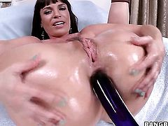 Dana De Armond is full of desire to take hard dick in her bottom