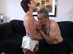 Check out this hot hardcore scene where the sexy mature Vanessa Videl gets fucked by her horny husband as you hear her moan.