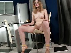 Lenya is horny as hell and fucks her hole with her fingers on cam