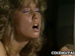 CDI Digital brings you a hell of a vintage free porn video where you can see how the hot retro babe Blondie Bee gets banged hard and deep into a breathtaking orgasm.